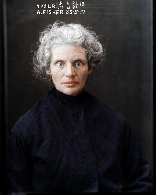 Alice Fisher, 23 May 1919, State Reformatory for Women, Long Bay, NSW. (Photo by My Colorful Past/Mediadrumworld)
