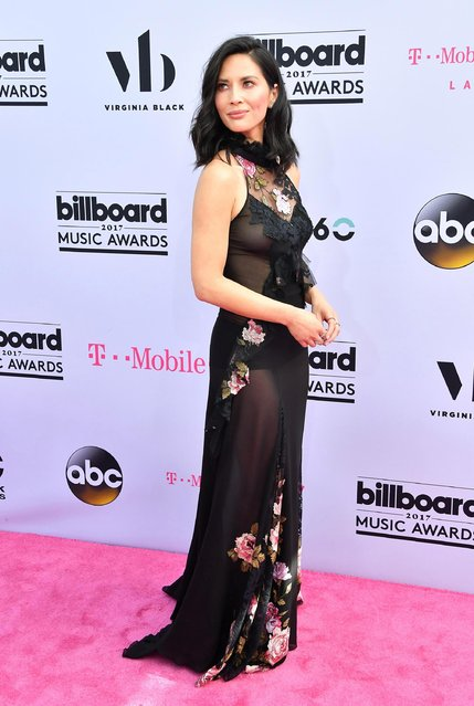 Actor Olivia Munn attends the 2017 Billboard Music Awards at T-Mobile Arena on May 21, 2017 in Las Vegas, Nevada. (Photo by Steve Granitz/WireImage)
