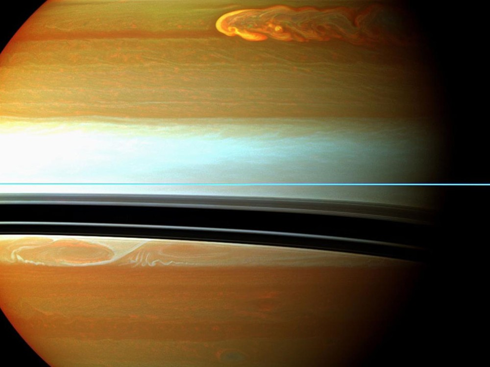 The Biggest, Most Long-lasting Saturnian Storm