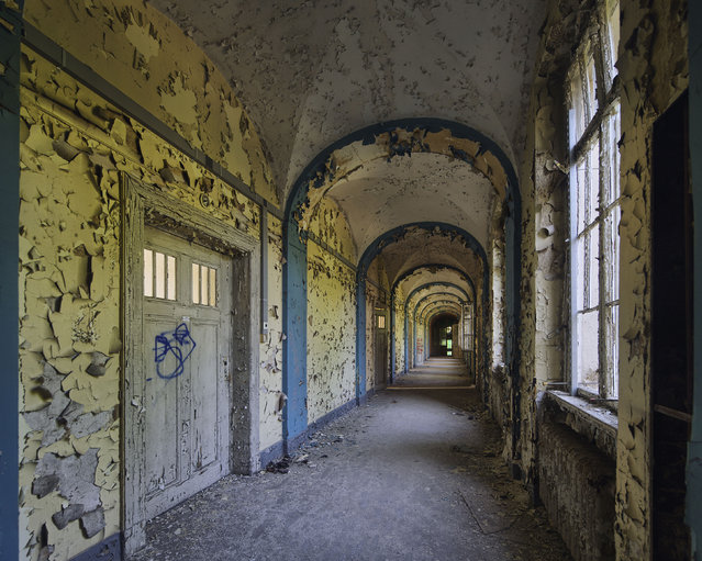 Lung sanatorium. (Photo by Daniel Barter/Caters News)