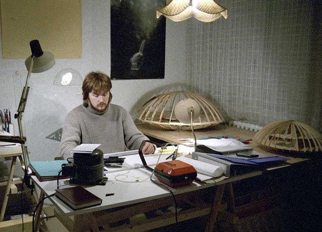 Wooden Dome Design from Patrick Marsilli