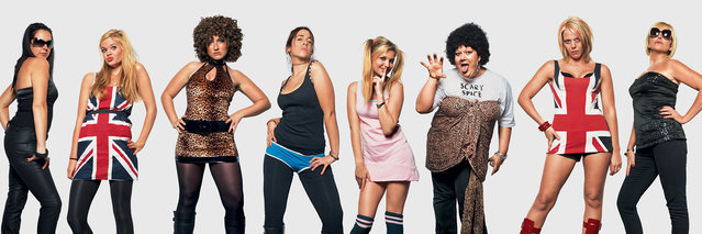 Spice Girls fans. (Photo by James Mollison)