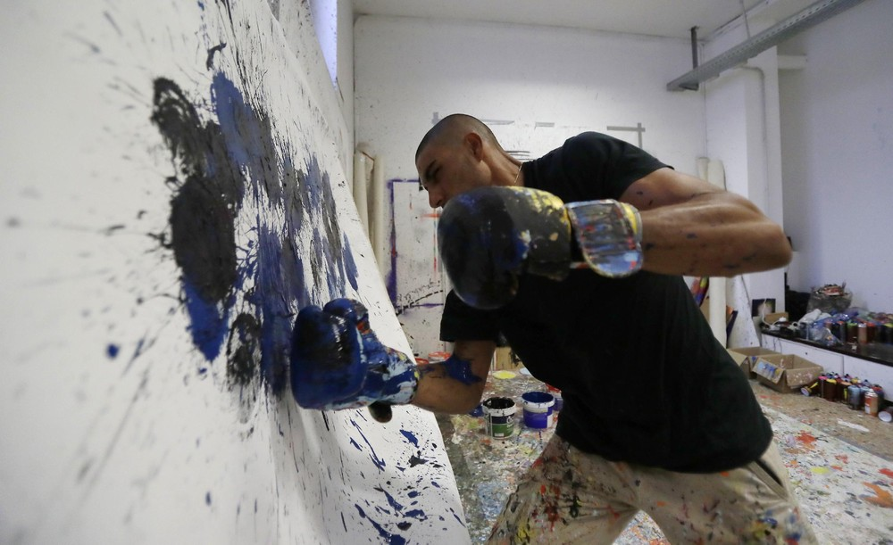 """Boxing Paint"""