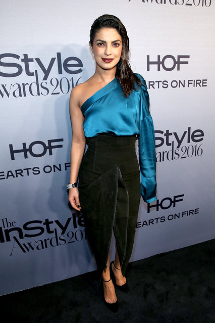 """Actress Priyanka Chopra attends the Second Annual """"InStyle Awards"""" presented by InStyle at Getty Center on October 24, 2016 in Los Angeles, California. (Photo by Jonathan Leibson/Getty Images for InStyle)"""