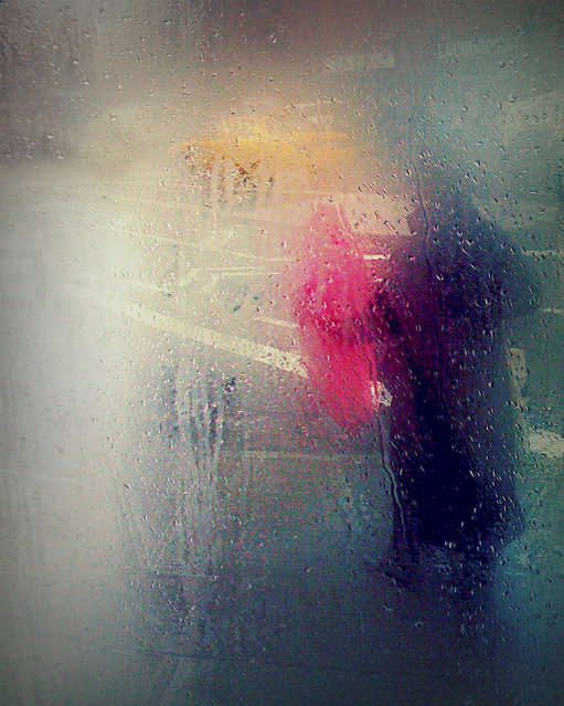 """Outside in the Rain"". (Photo by Sion Fullana)"