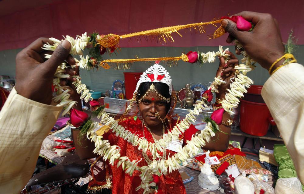 Portraits of Indian Brides