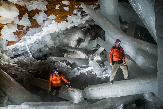 Giant Crystal Cave in Naica, Mexico