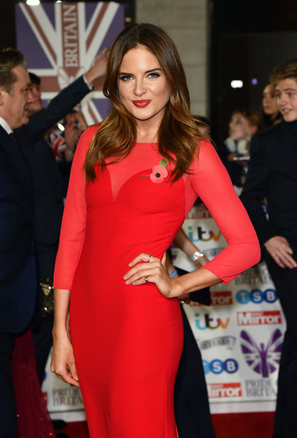 Former Made In Chelsea star Binky Felsted attends the Pride Of Britain Awards 2019 at The Grosvenor House Hotel on October 28, 2019 in London, England. (Photo by Goff Photos)