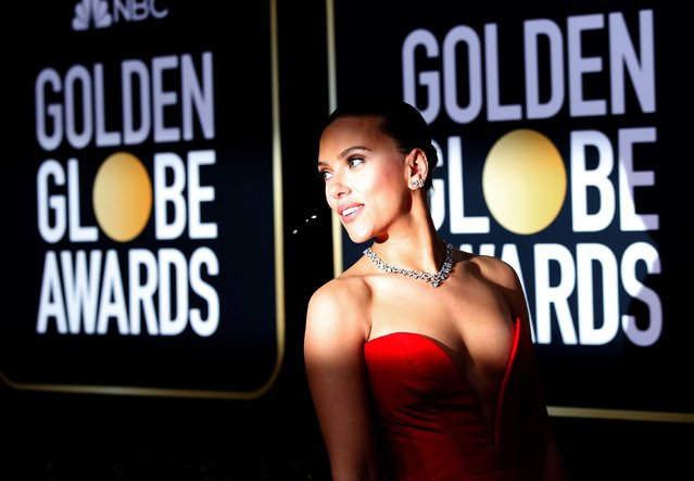 Scarlett Johansson attends the 77th Annual Golden Globe Awards at The Beverly Hilton Hotel on January 05, 2020 in Beverly Hills, California. (Photo by Mario Anzuoni/Reuters)