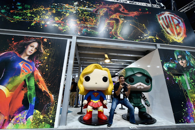 Preview Night of Comic-Con International 2017 at San Diego Convention Center on July 19, 2017 in San Diego, California. (Photo by Mike Coppola/Getty Images)