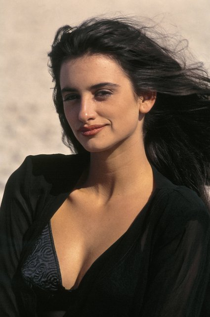 Penelope Cruz, actress; 1993.  (Photo by Quim Llenas/Cover/Getty Images)