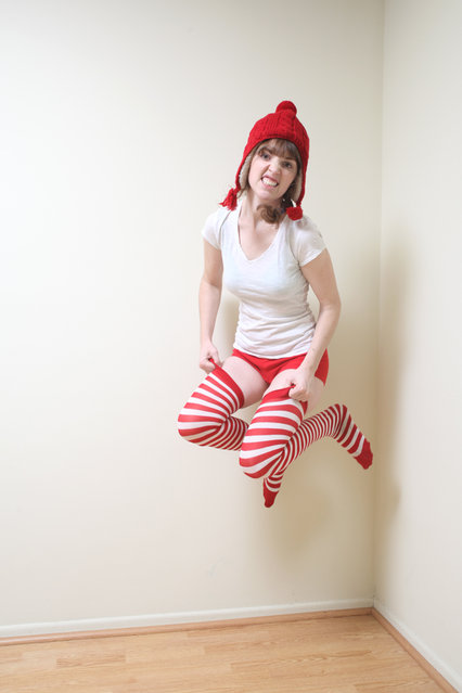 """""""Jumpology"""". """"JUMP time to get festive"""". (Photo by Lauren Randolph)"""