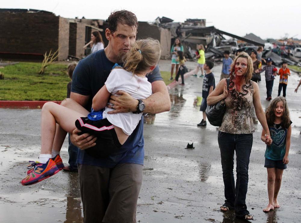 Massive Tornado Rips Through Moore, Oklahoma