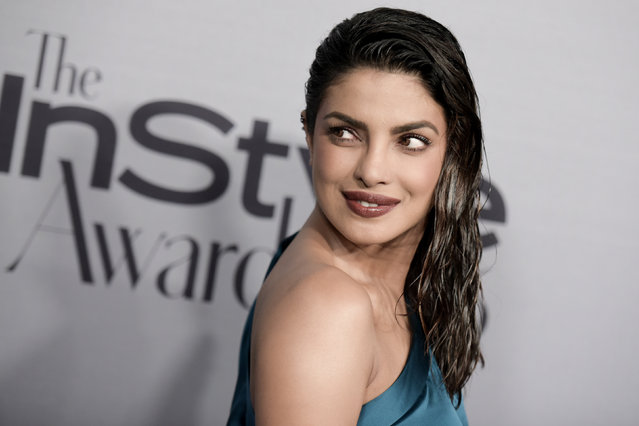 Priyanka Chopra attends the 2nd Annual InStyle Awards at The Getty Center on Monday, October 24, 2016, in Los Angeles. (Photo by Richard Shotwell/Invision/AP Photo)