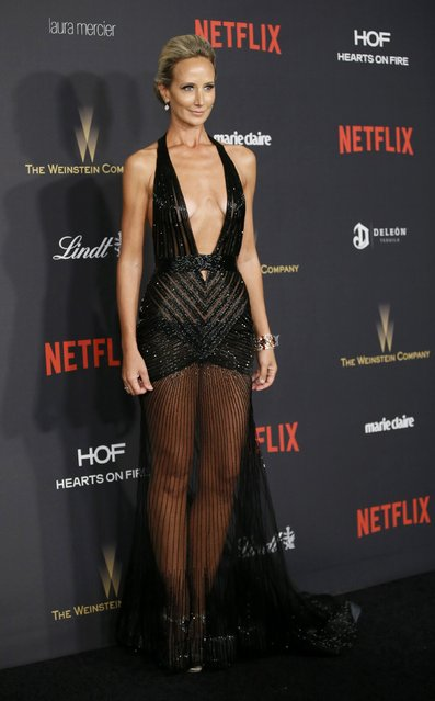 Lady Victoria Hervey arrives at The Weinstein Company & Netflix Golden Globe After Party in Beverly Hills, California January 10, 2016. (Photo by Danny Moloshok/Reuters)