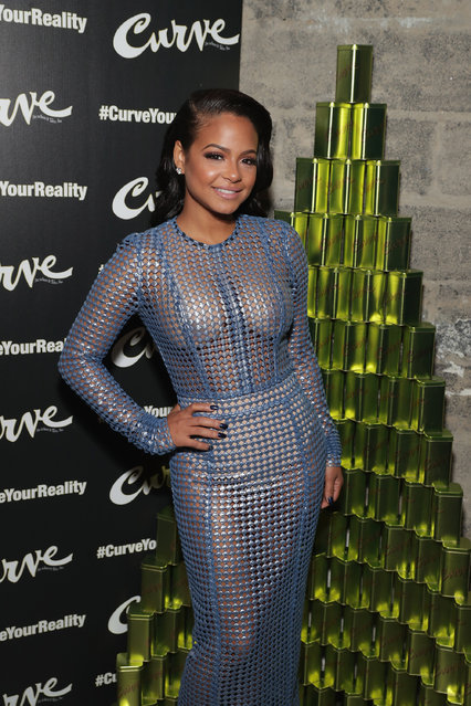 Actress and Grammy nominated Singer/Songwriter Christina Milian attends #CurveYourReality Campaign Launch for Curve Fragrances at Lightbox on December 6, 2016 in New York City. (Photo by Cindy Ord/Getty Images for Elizabeth Arden)