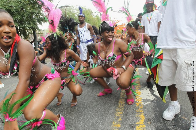 New Yorkers Celebrate At West Indian Day Parade