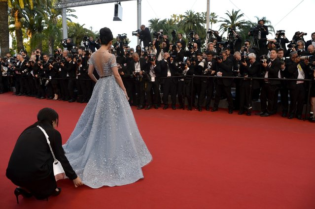 "Li Bingbing attends the Premiere of ""The Sea Of Trees"" during the 68th annual Cannes Film Festival on May 16, 2015 in Cannes, France. (Photo by Pascal Le Segretain/Getty Images)"