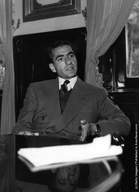 1950:  Reza Pahlavi Mohammed,  (1919 - 1980), the  Shah of Iran