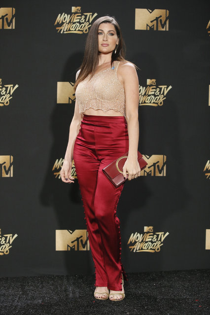 Trace Lysette attends the 2017 MTV Movie And TV Awards at The Shrine Auditorium on May 7, 2017 in Los Angeles, California. (Photo by Danny Moloshok/Reuters)