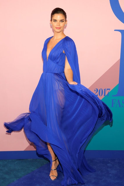 Model Sara Sampaio attends the CFDA Fashion Awards in Manhattan, New York, U.S., June 5, 2017. (Photo by Andrew Kelly/Reuters)
