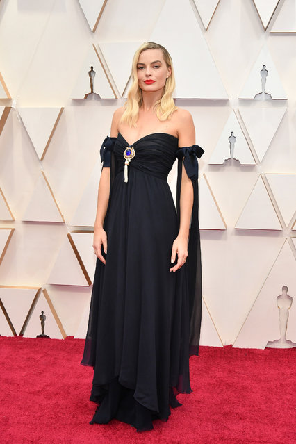 Margot Robbie attends the 92nd Annual Academy Awards at Hollywood and Highland on February 09, 2020 in Hollywood, California. (Photo by Amy Sussman/Getty Images)