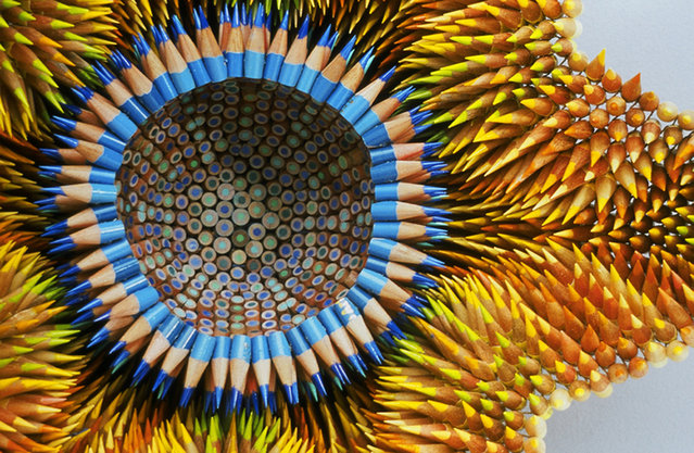 Pencil Sculptures - by Jennifer Maestre