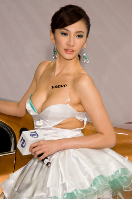 Asian Beauty: Hot Promotional Models in Taipei, Taiwan. Taipei Automobile & Accessories Exhibition 2011