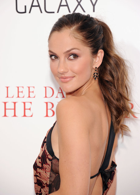 "Actress Minka Kelly attends Lee Daniels' ""The Butler"" New York Premiere at Ziegfeld Theater on August 5, 2013 in New York City. Minka Kelly was named Sexiest Woman Alive in 2010. (Photo by Jamie McCarthy/Getty Images)"