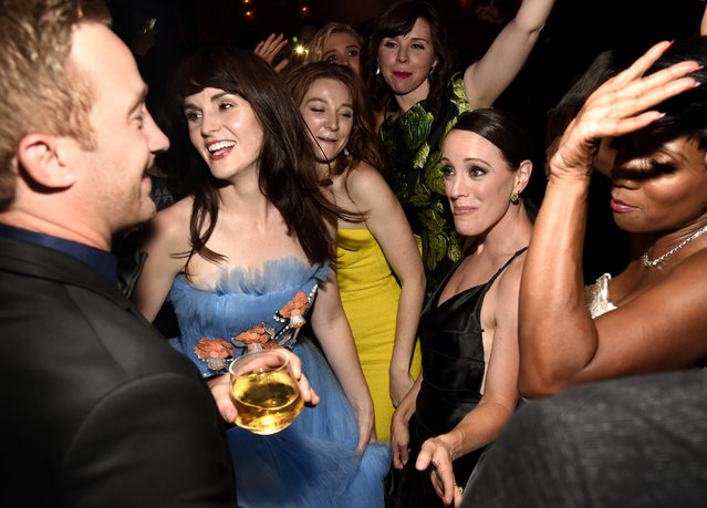 Michelle Dockery attends the 2018 Netflix Primetime Emmys After Party at NeueHouse Hollywood on September 17, 2018 in Los Angeles, California. (Photo by Kevin Mazur/Getty Images for Netflix)
