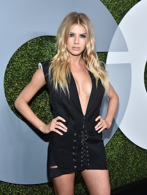 Model Charlotte McKinney attends the 2016 GQ Men of the Year Party at Chateau Marmont on December 8, 2016 in Los Angeles, California. (Photo by Mike Windle/Getty Images for GQ)