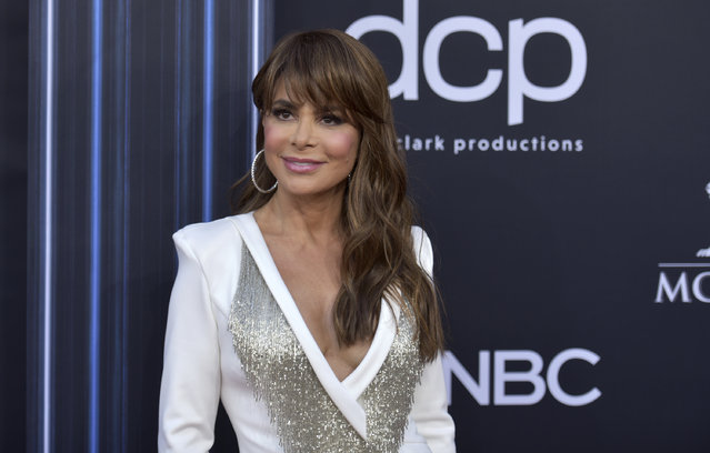 Paula Abdul arrives at the Billboard Music Awards on Wednesday, May 1, 2019, at the MGM Grand Garden Arena in Las Vegas. (Photo by Richard Shotwell/Invision/AP Photo)