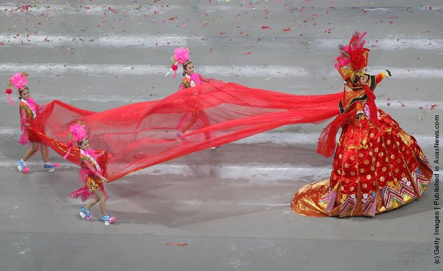 Opening Ceremony for the 9th National Traditional Games of Ethnic Minorities of the People's Republic of China