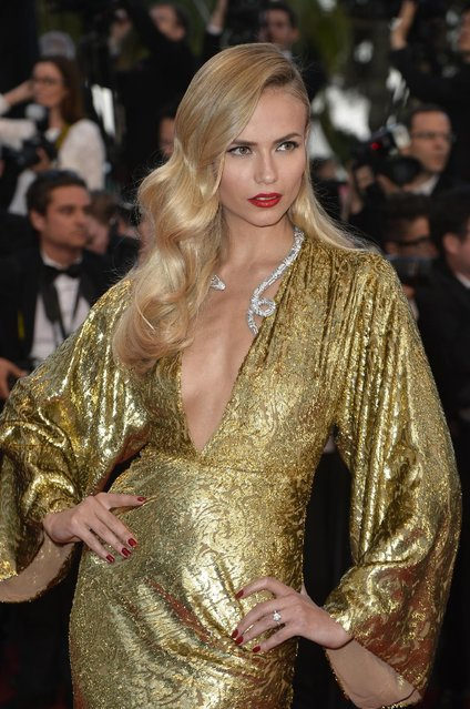 "Natasha Poly attends the Premiere of ""The Sea Of Trees"" during the 68th annual Cannes Film Festival on May 16, 2015 in Cannes, France. (Photo by Pascal Le Segretain/Getty Images)"