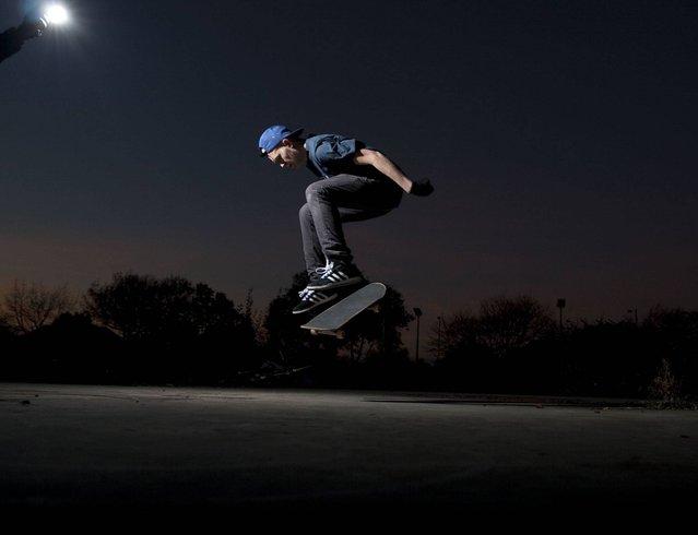 """Nightskate"". (Photo by Jackson Barton/ESRC)"