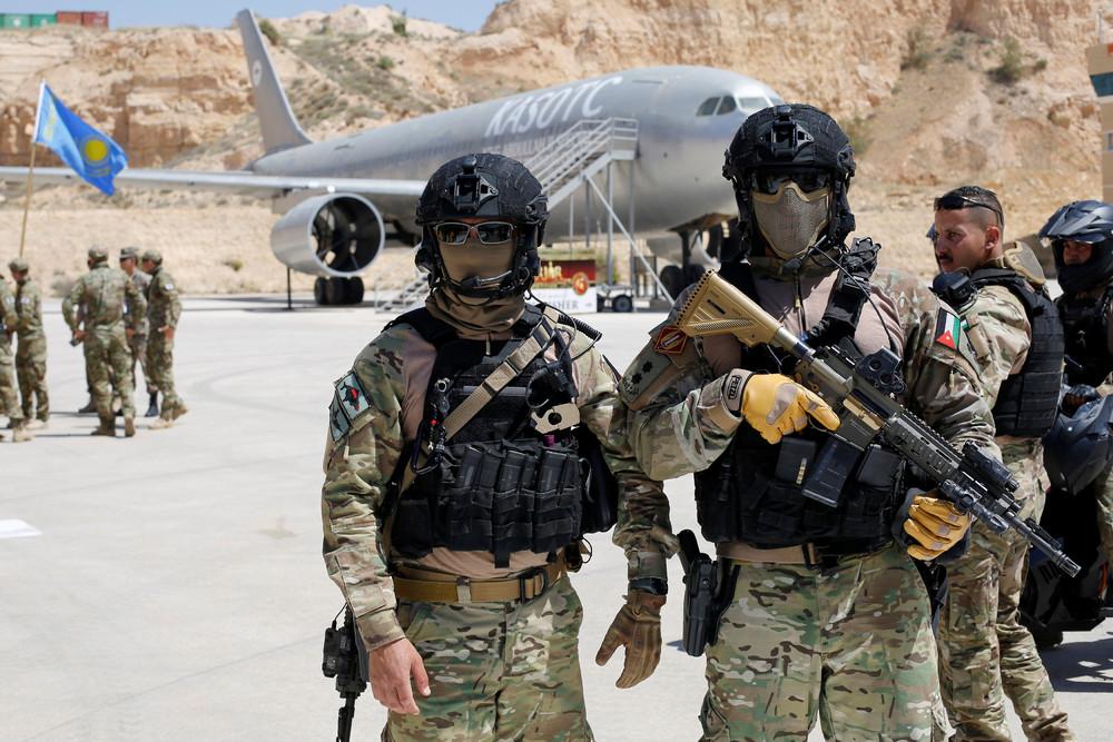 Warrior Competition in Amman