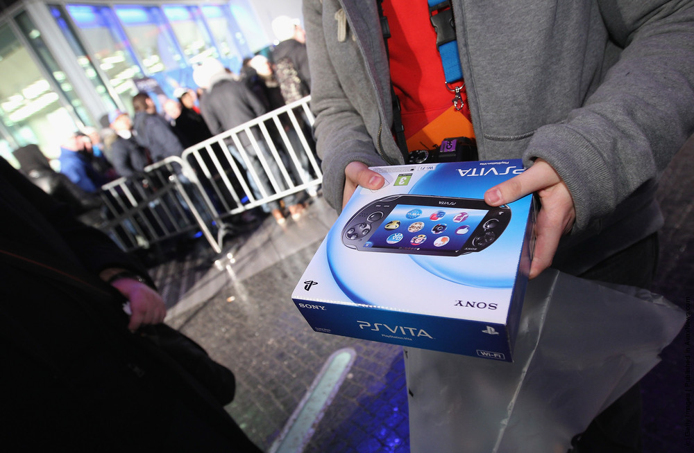 Sony Launches PlayStation Vita