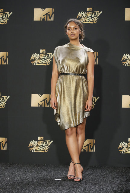 Alisha Boe attends the 2017 MTV Movie And TV Awards at The Shrine Auditorium on May 7, 2017 in Los Angeles, California. (Photo by Danny Moloshok/Reuters)