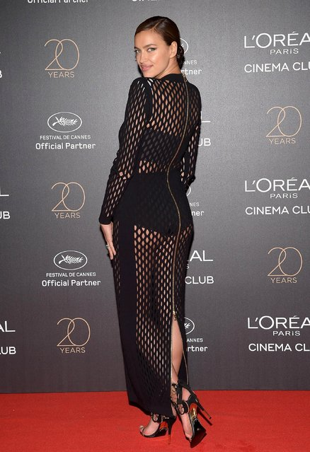 Irina Shayk attends the Gala 20th Birthday Of L'Oreal In Cannes during the 70th annual Cannes Film Festival at Martinez Hotel on May 24, 2017 in Cannes, France. (Photo by Pascal Le Segretain/Getty Images)