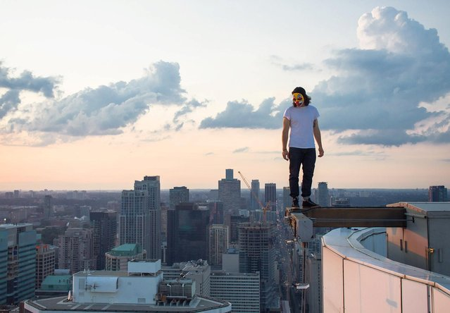 """""""The Joker"""". (Photo by Roof Topper)"""