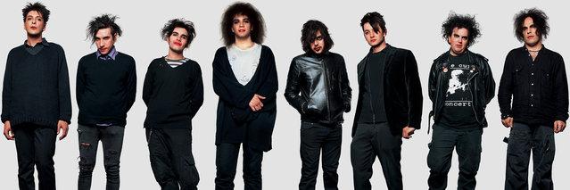 The Cure fans. (Photo by James Mollison)