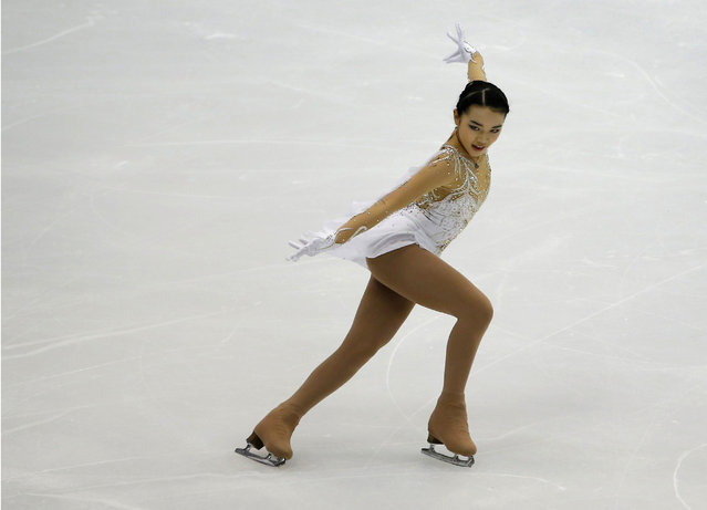 Figure Skating, ISU Grand Prix of Figure Skating NHK Trophy 2016/2017, Ladies Short Program, Sapporo, Japan on November 25, 2016. Karen Chen of the U.S. competes. (Photo by Issei Kato/Reuters)