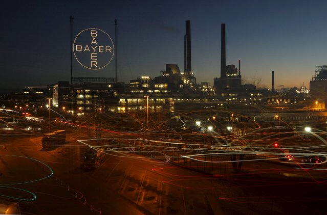 A plant belonging to Germany's largest drugmaker Bayer is seen in Leverkusen in this January 30, 2013 file photo.  Bayer is expected to report Q4 results this week. (Photo by Ina Fassbender/Reuters)