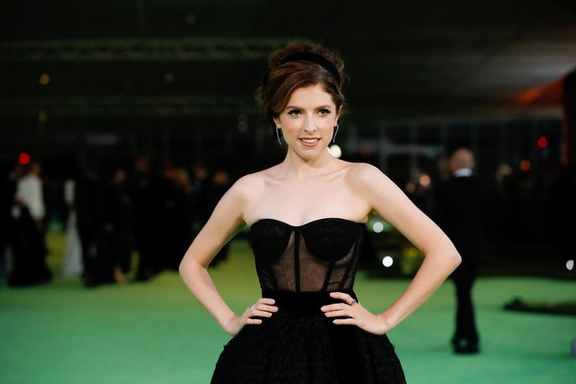 Actor Anna Kendrick poses at the Academy Museum of Motion Pictures gala in Los Angeles, California, U.S. September 25, 2021. (Photo by Mario Anzuoni/Reuters)