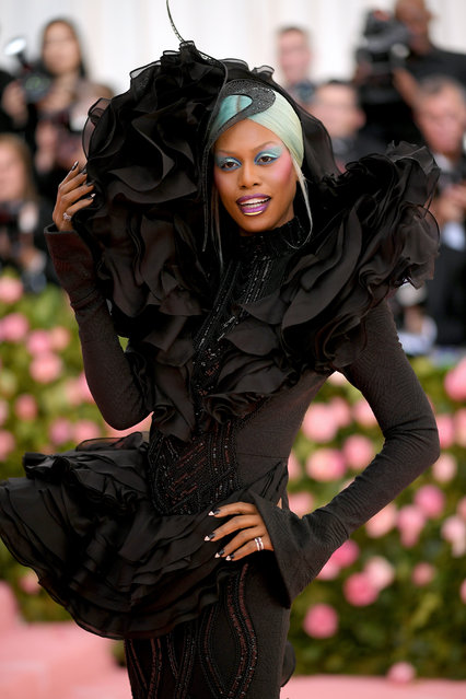 Laverne Cox attends The 2019 Met Gala Celebrating Camp: Notes on Fashion at Metropolitan Museum of Art on May 06, 2019 in New York City. (Photo by Neilson Barnard/Getty Images)