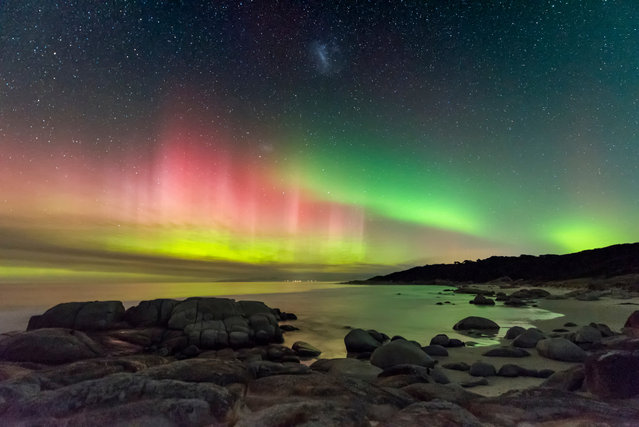 Aurora Australis from Beerbarrel Beach, by James Stone. Runner Up: Aurorae. (Photo by James Stone/Astronomy Photographer of the Year)