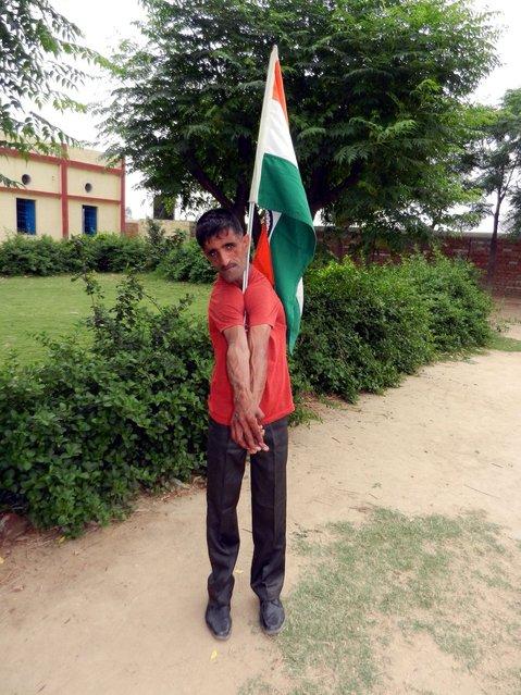 Rammehar Punia A Rubber Man