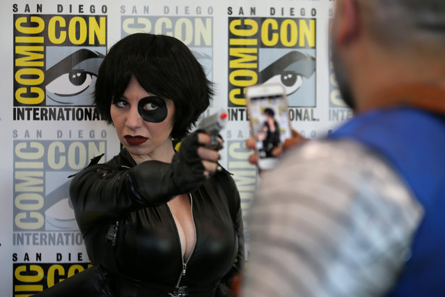 Cosplayers at 2017 Comic-Con International on July 20, 2017 in San Diego, California. (Photo by Mike Blake/Reuters)