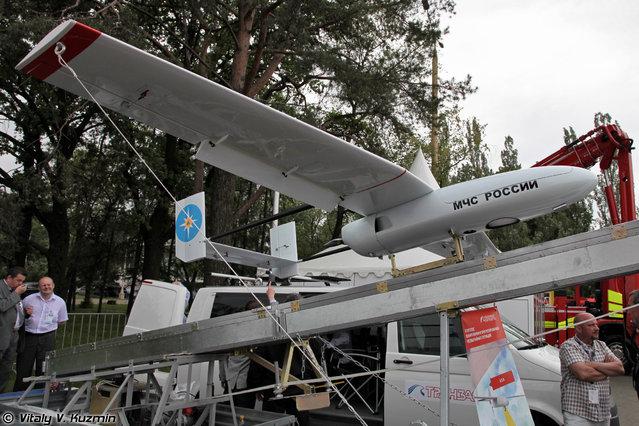 Emergency UAV system designed by Tranzas company