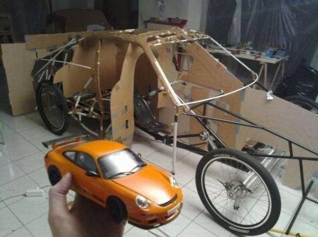 Homemade Porsche 911